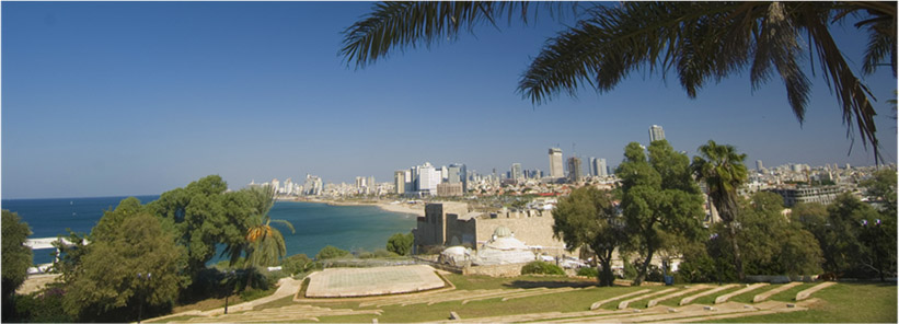 Coastline of Tel Aviv